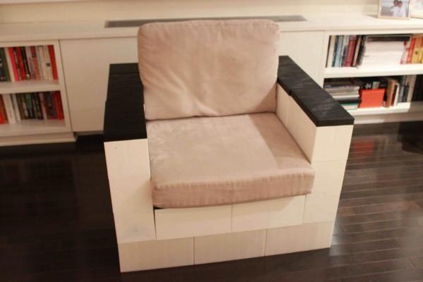 Chair w Cushion - Small