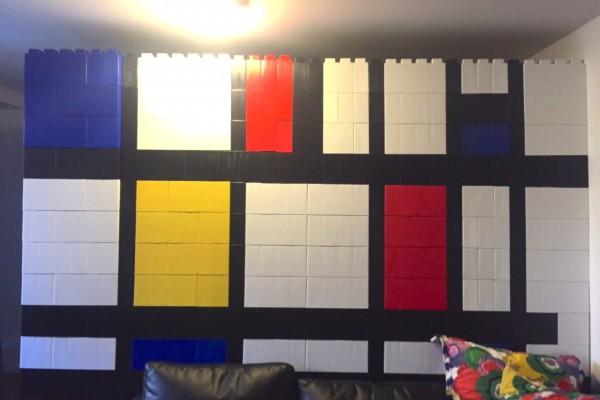 Mondrian Wall
